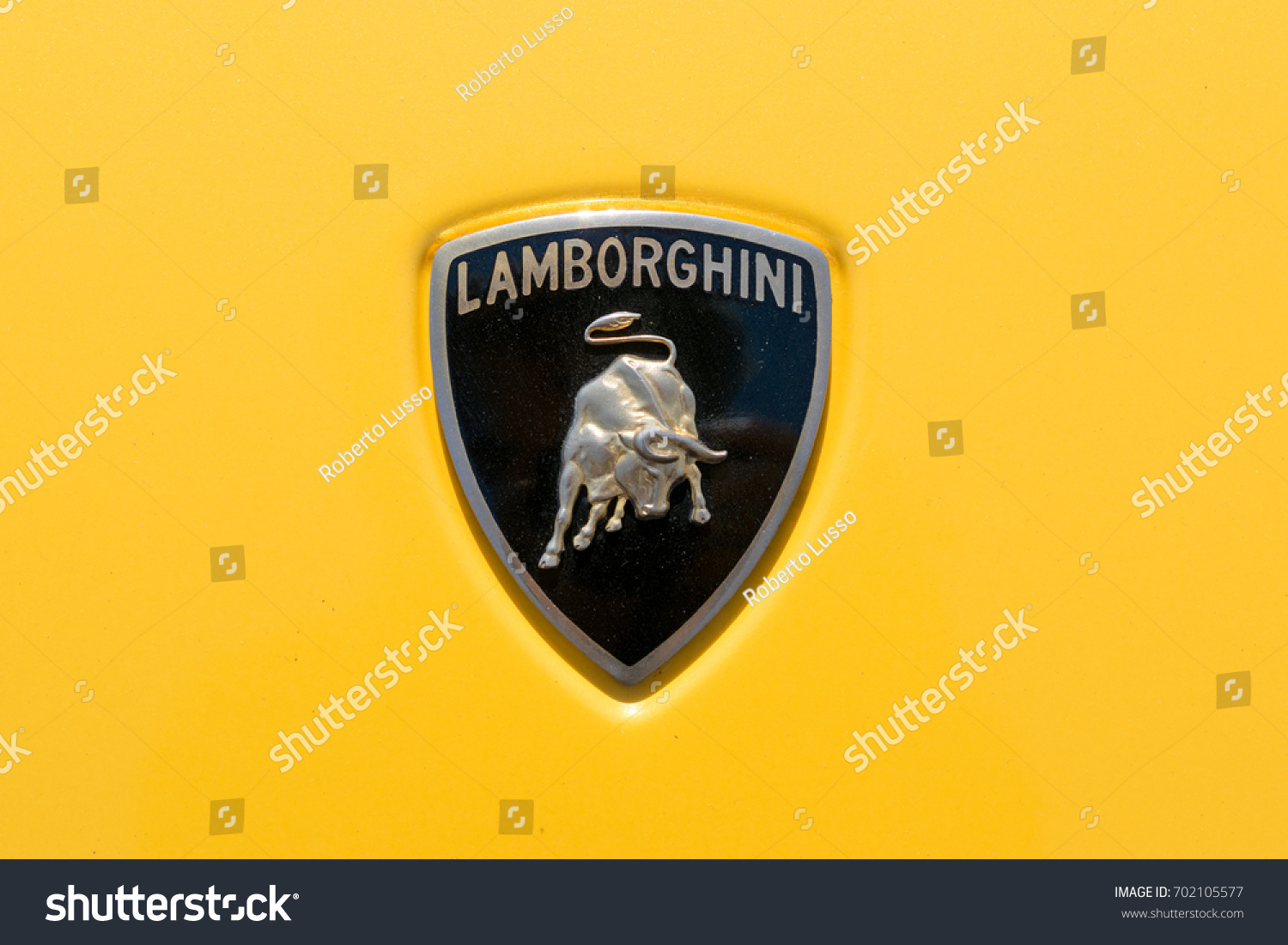 Turin Italy June 10 2017 Lamborghini Stock Photo Edit Now