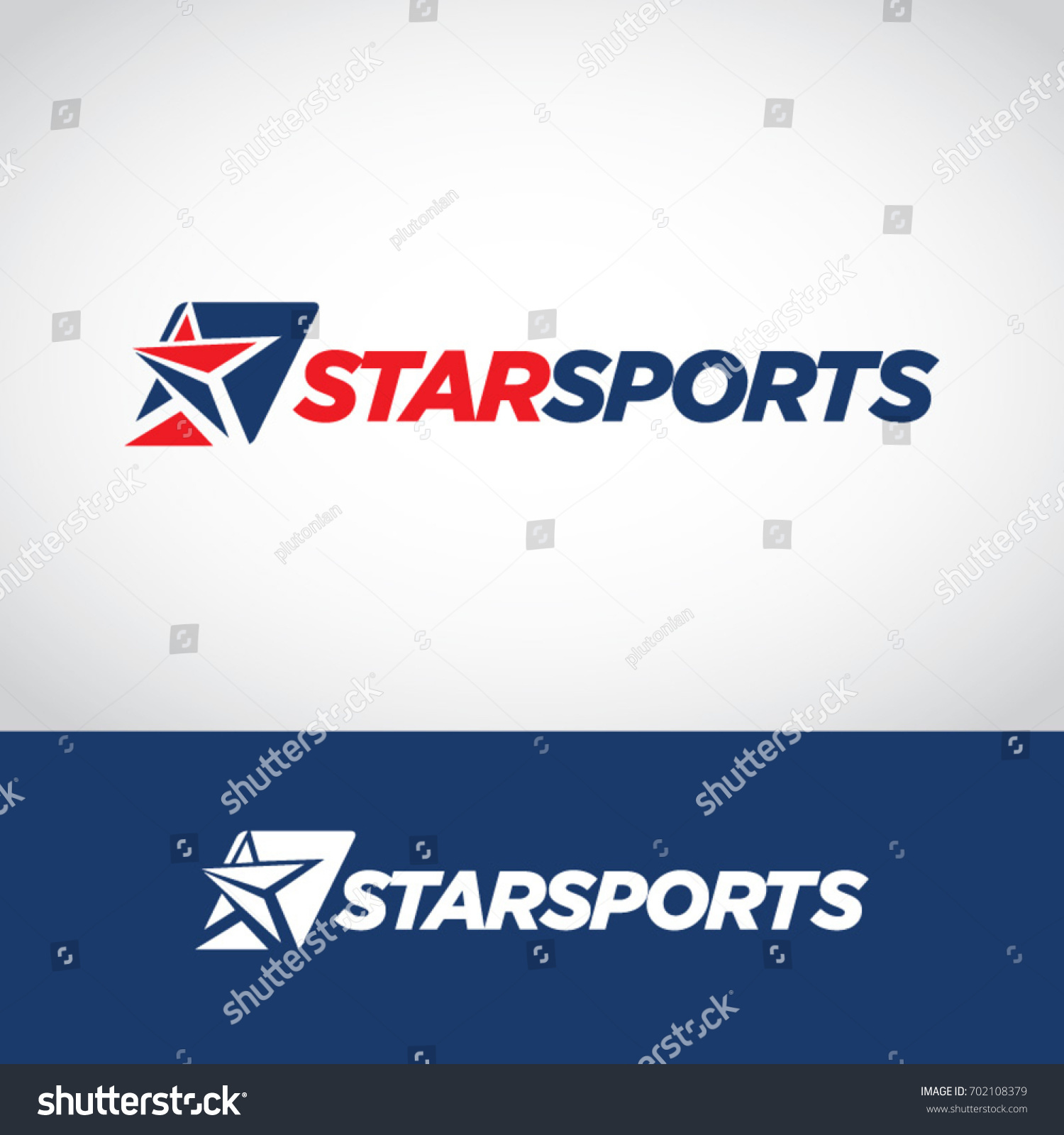 Abstract blue red sport star logo stock vector 702108379 abstract blue red sport star logo symbol buycottarizona