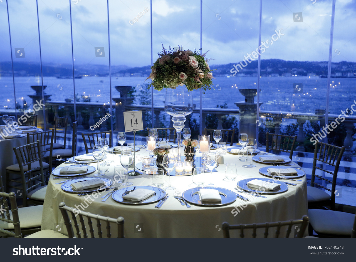 Wedding Guest Dining Table Decorations Ceremony Dinner