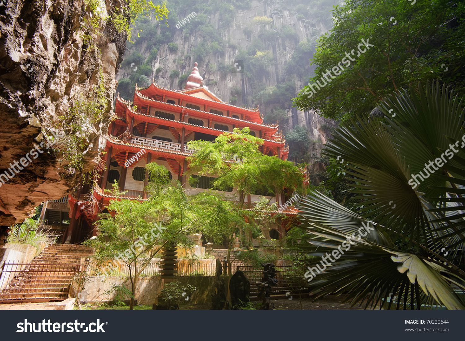 Chinese Temple Cave Mountain Ipoh Malaysia Stock Photo ...