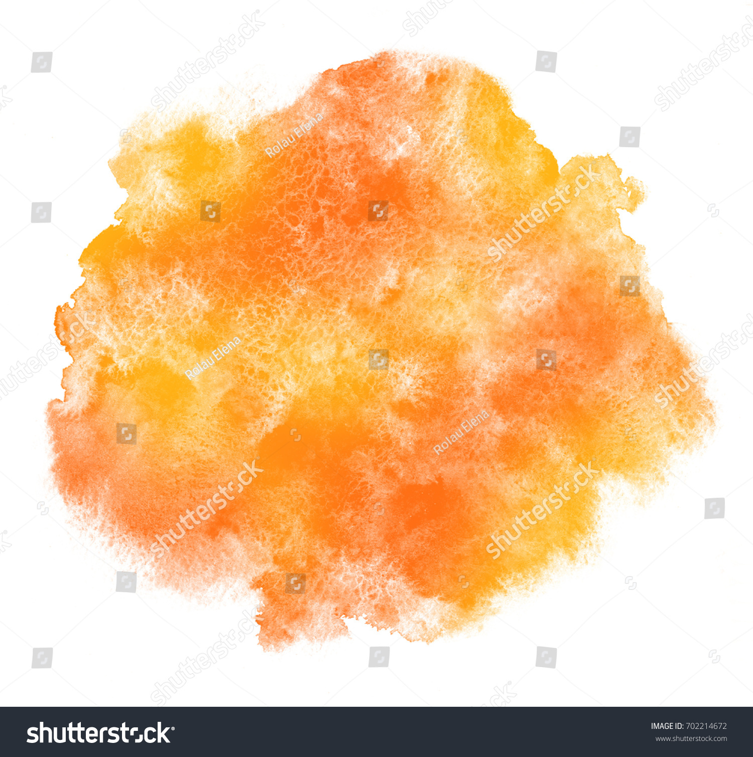 autumn fall halloween thanksgiving watercolor background stock