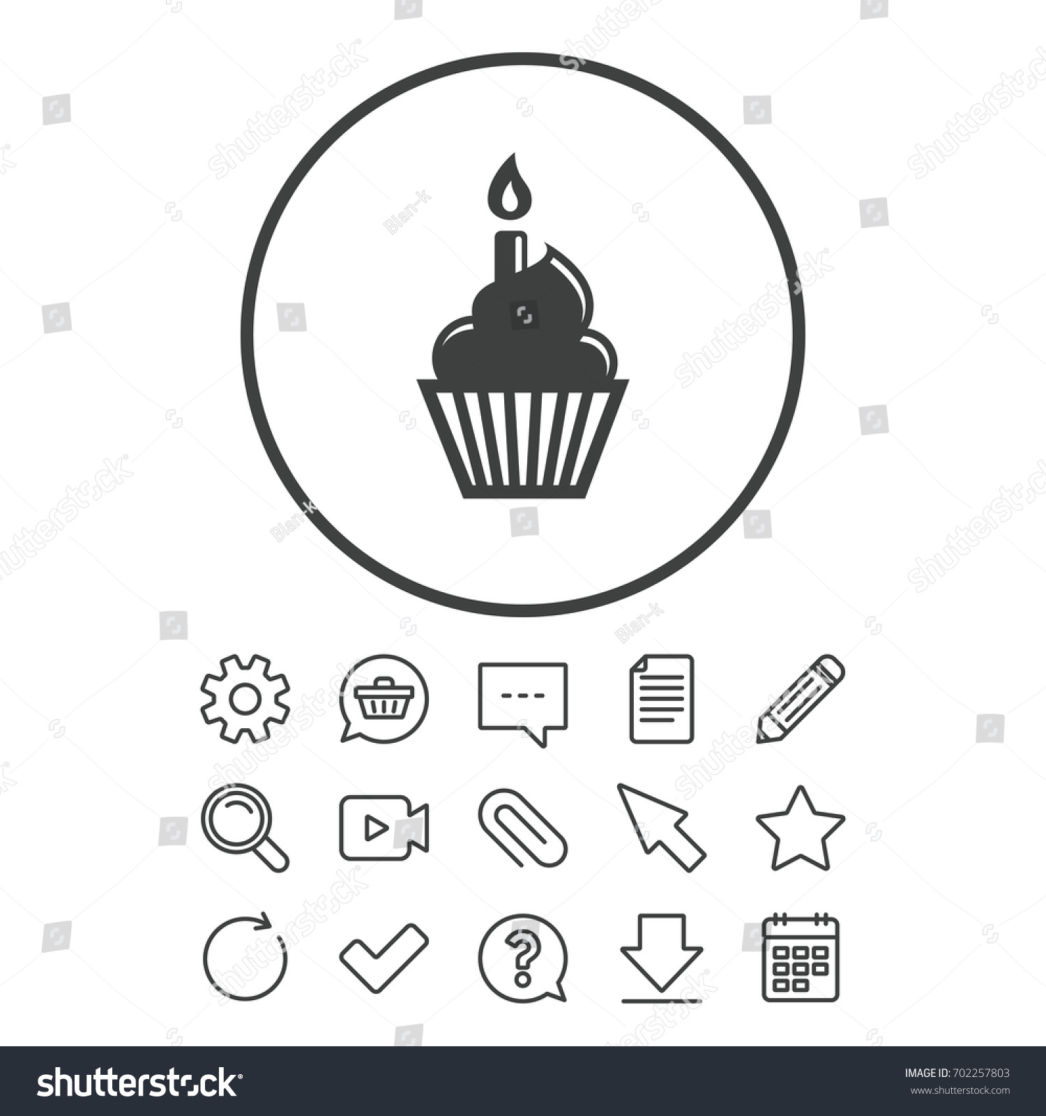 Birthday Cake Font Symbol Choice Image Meaning Of This Symbol