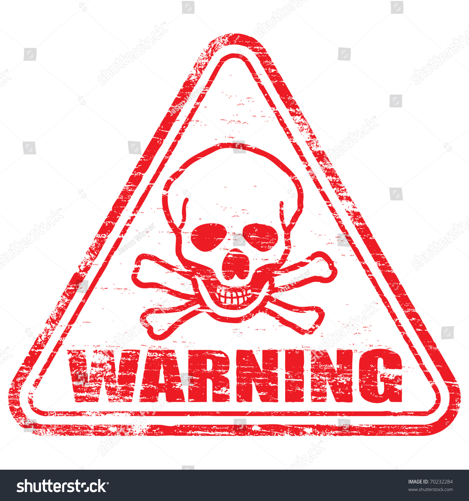 Rubber stamp illustration showing warning text stock illustration rubber stamp illustration showing warning text and skull bones symbol buycottarizona Images