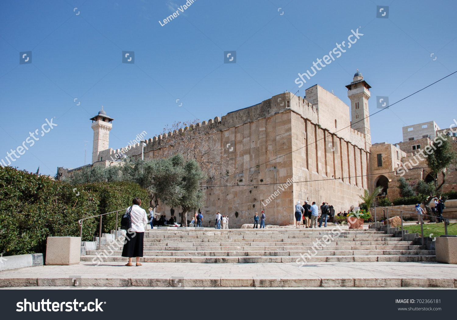 HEBRON ISRAEL APRIL 12 2009 Cave Stock Photo (Royalty Free ...