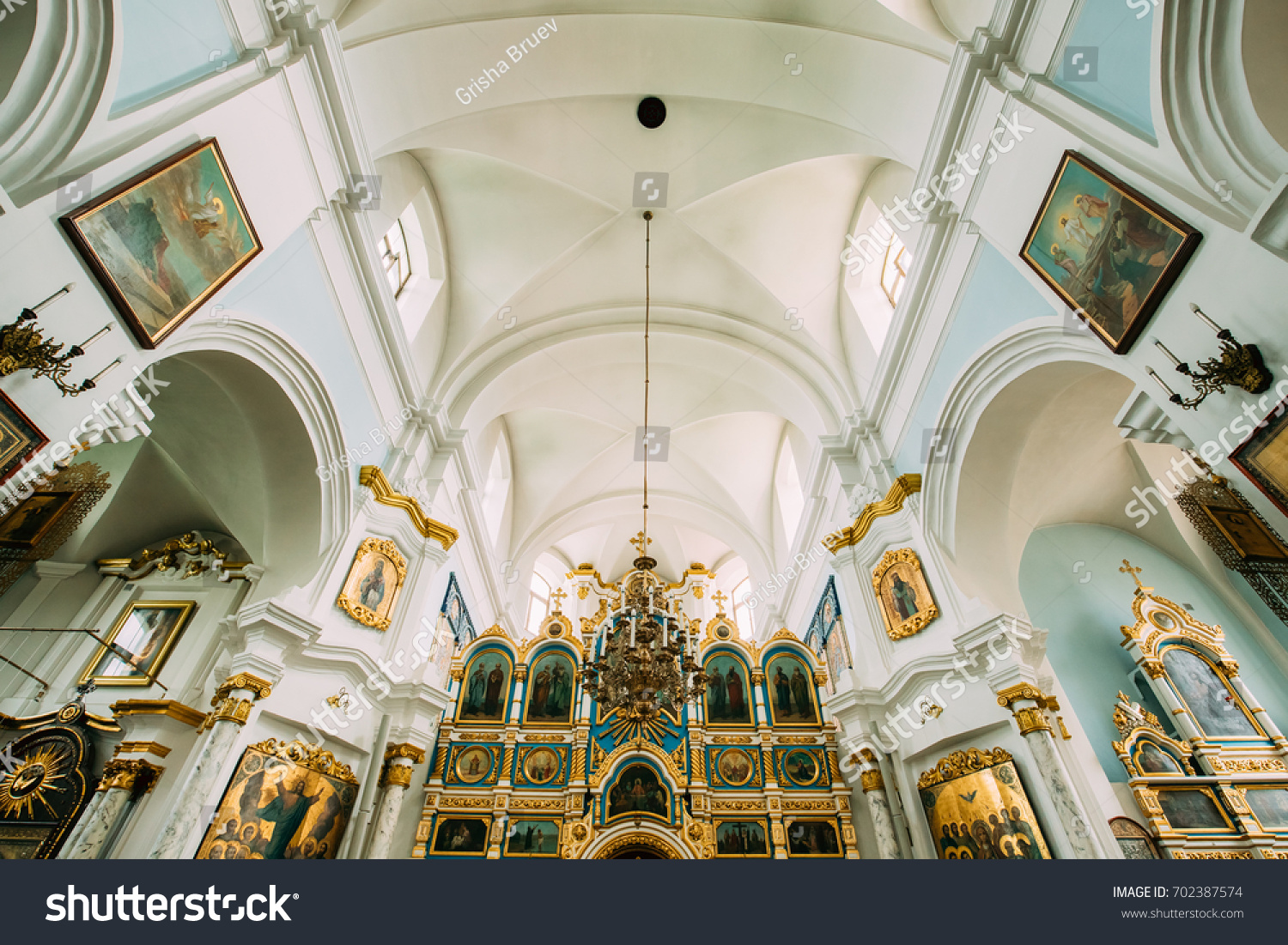 Minsk Belarus September 3 2016 Cathedral Stock Photo Royalty Free
