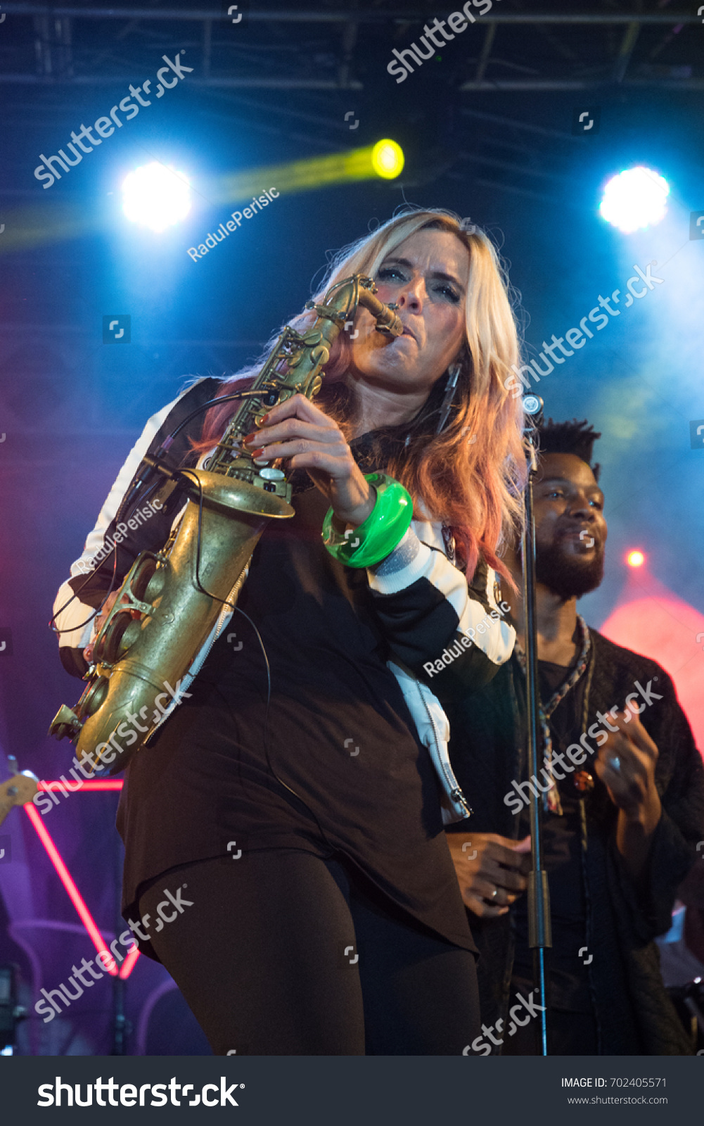 Nis Serbiaaugust 13 2017 Candy Dulfer Stock Photo (Edit Now