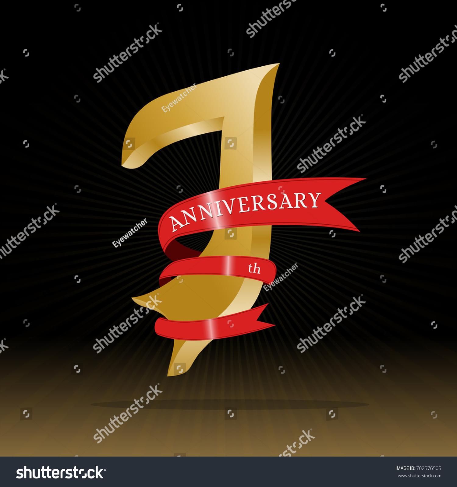 7th anniversary symbol vector stock vector 702576505 shutterstock 7th anniversary symbol vector buycottarizona