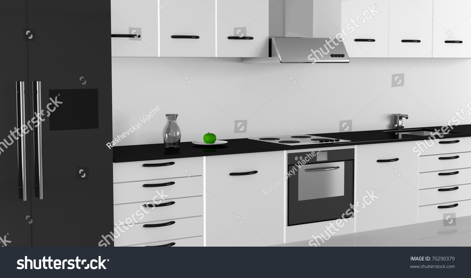 Modern Kitchen Interior Design High Resolution Image