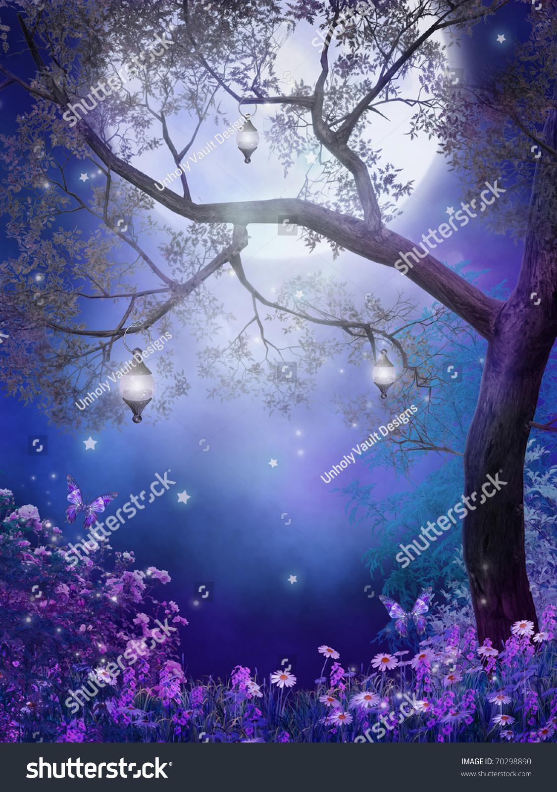 Worksheet Fairy Tree purple meadow fairy tree stock illustration 70298890 shutterstock with a tree