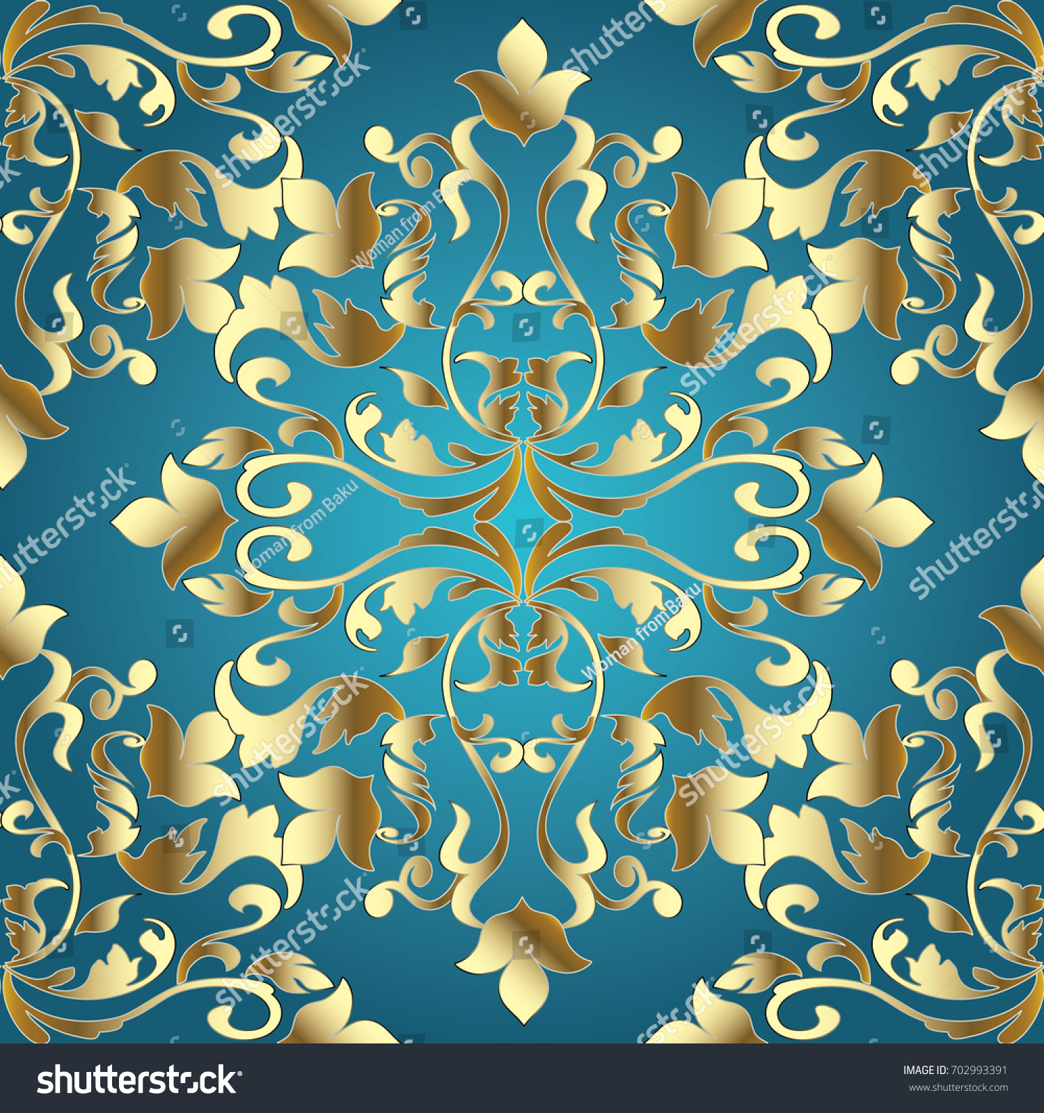 leaf scroll wallpaper vintage patterns - photo #47