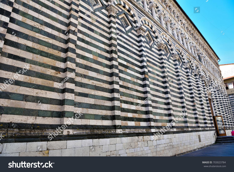 Church of san giovanni fuorcivitas pistoia tuscany italy