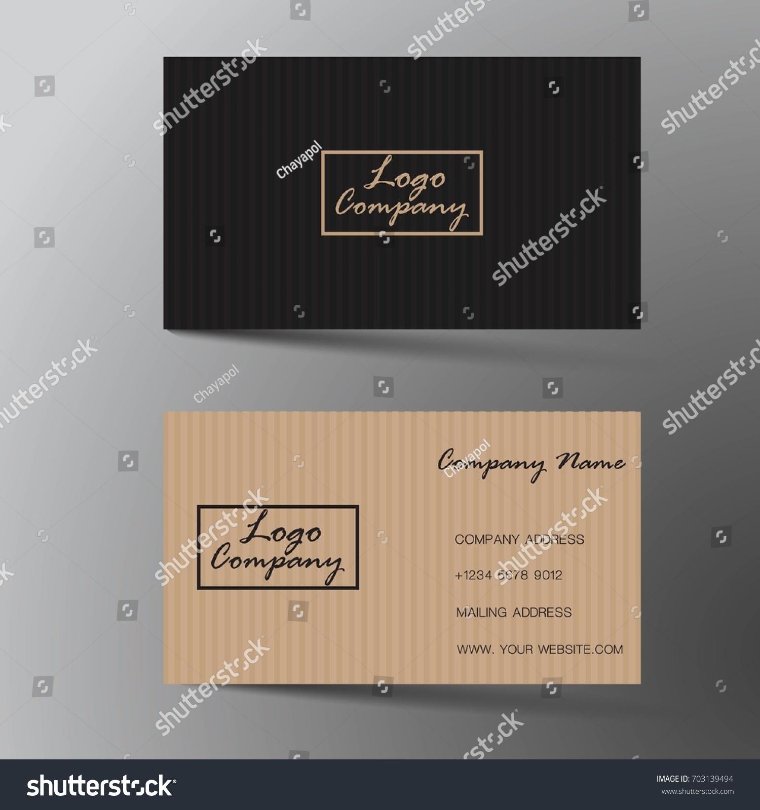 Modern business card design inspiration abstract classic stock modern business card design with inspiration from the abstract classic style reheart Images