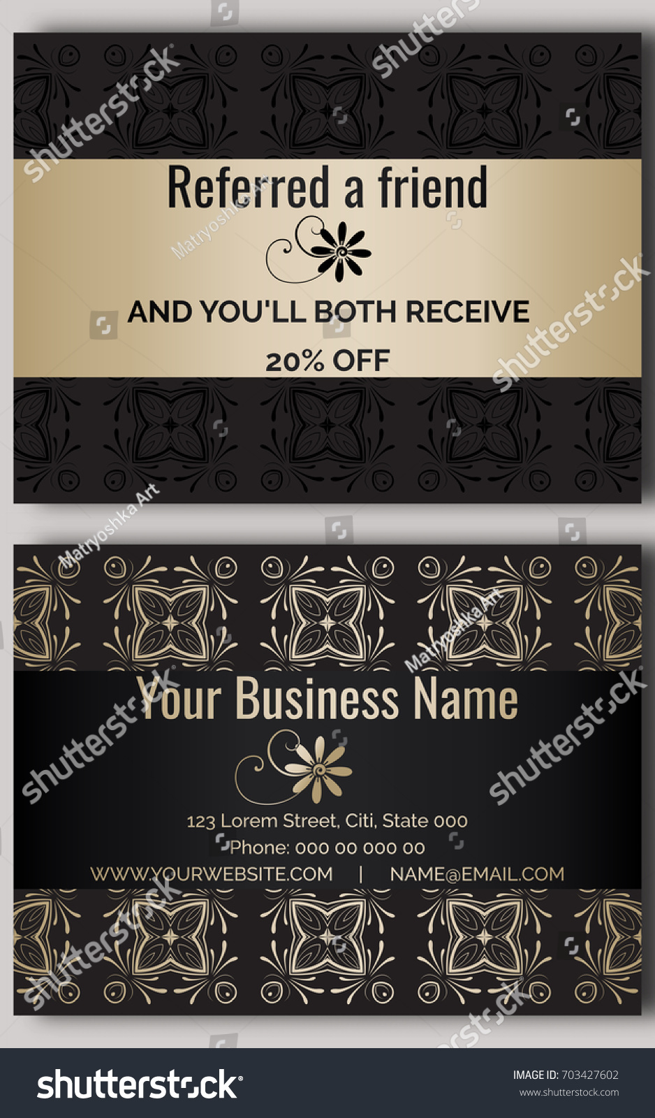 Moo business cards coupon image collections free business cards business card discount images free business cards business card black gold discount coupon stock vector 703427602 magicingreecefo Gallery