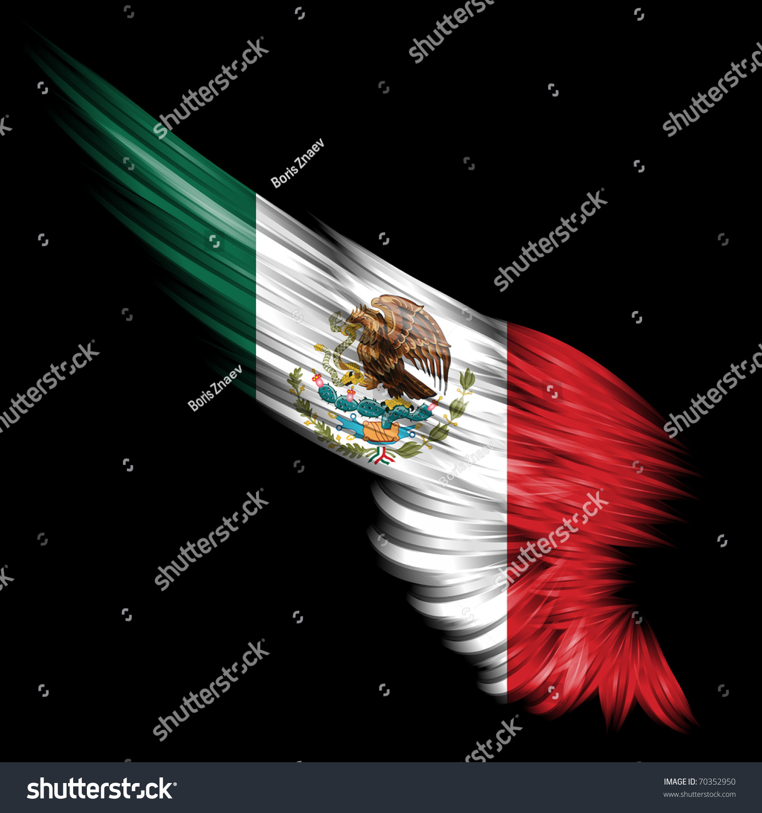 abstract wing mexico flag on black stock illustration angel wings clip art free printable angel wings clip art one