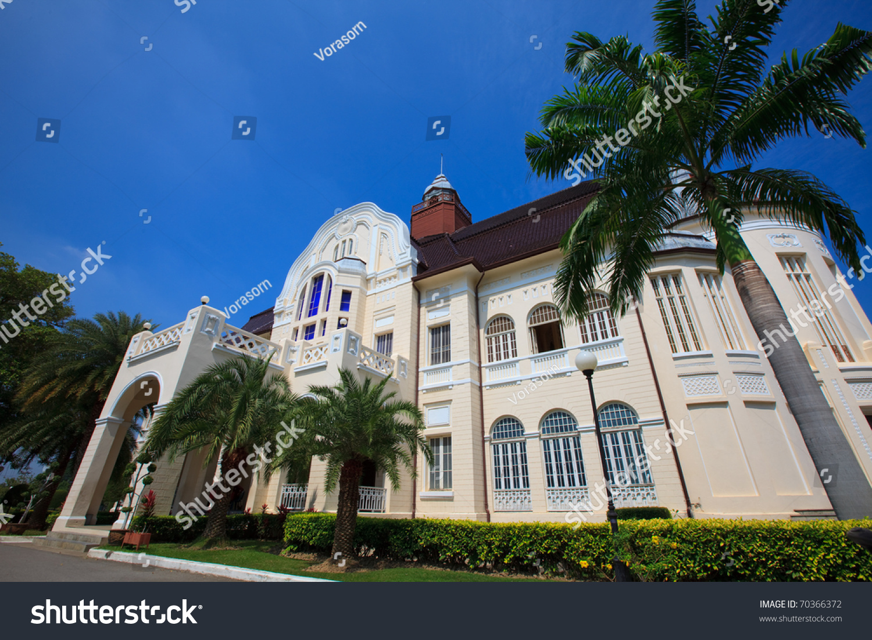 modern european architecture palacewang ban puan stock