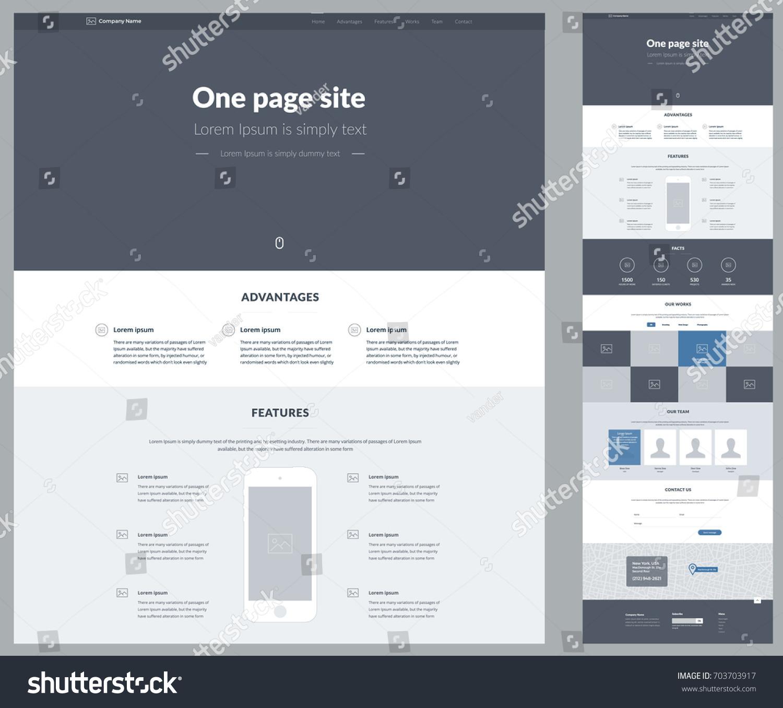 website design wireframe templates