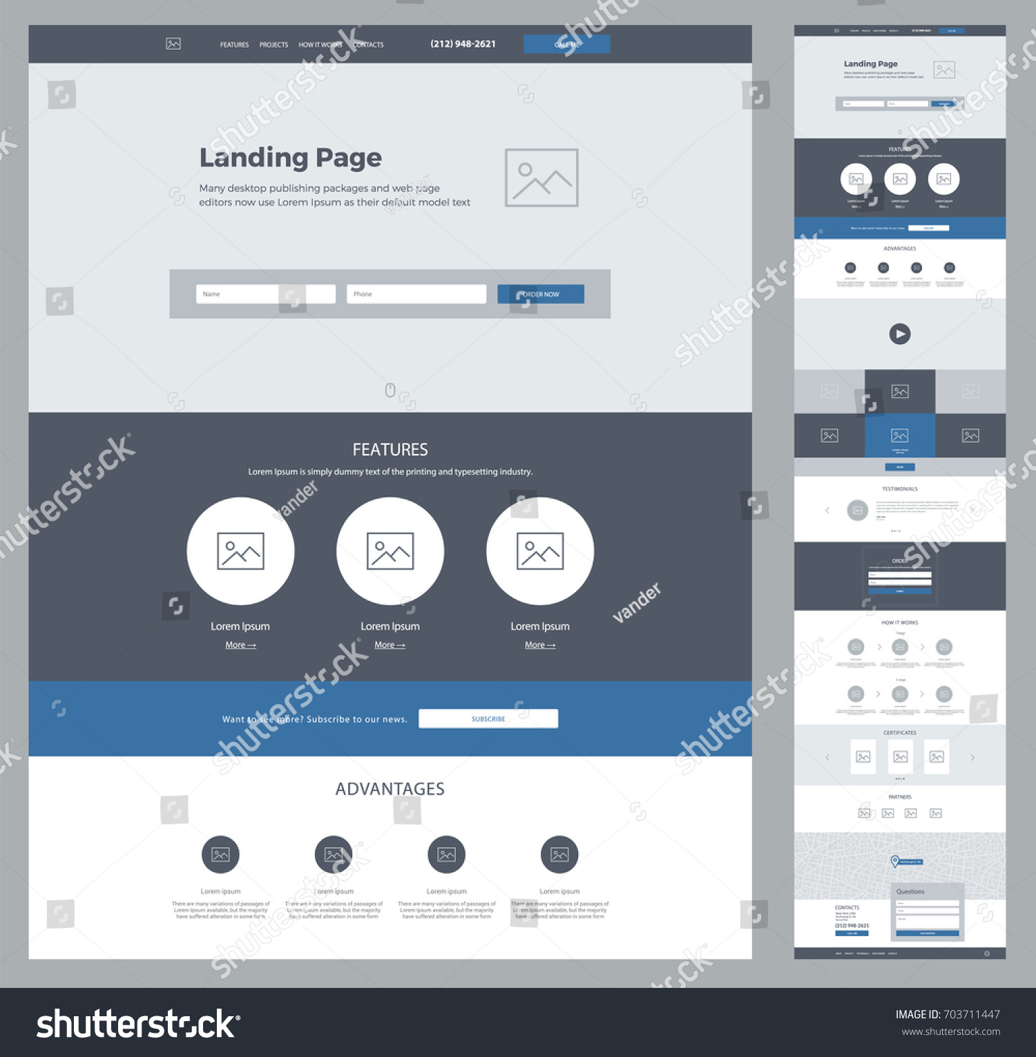 business contacts template