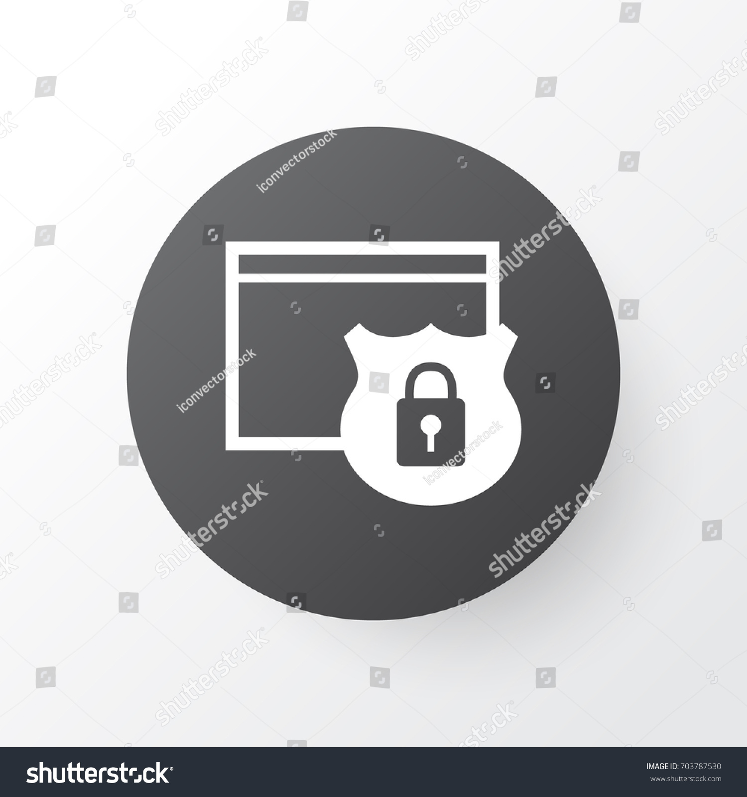 Secure website symbol images symbol and sign ideas website protection icon symbol premium quality stock vector website protection icon symbol premium quality isolated security biocorpaavc