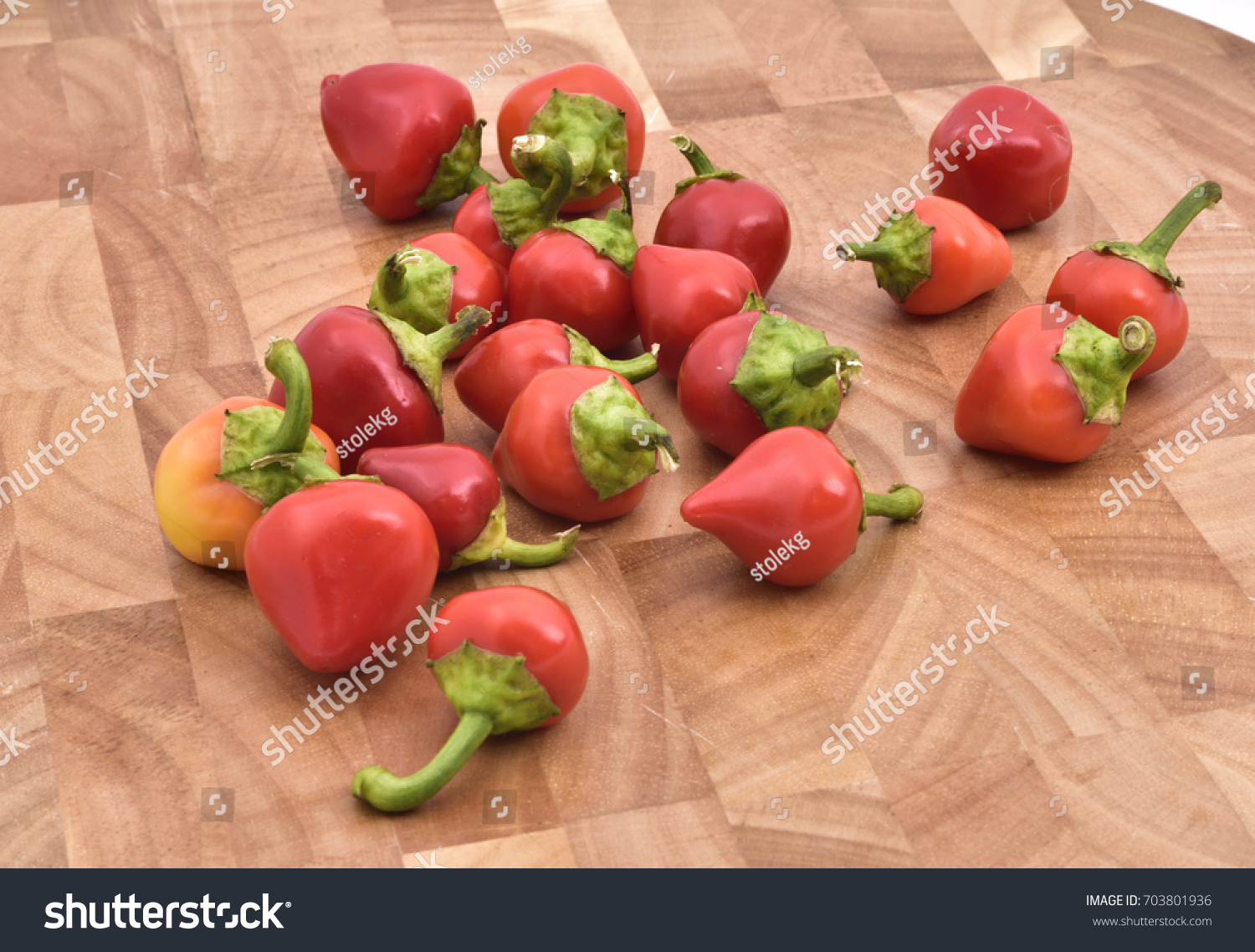 Hot Chili Peppers Hottest Pepper World Stock Photo Edit Now