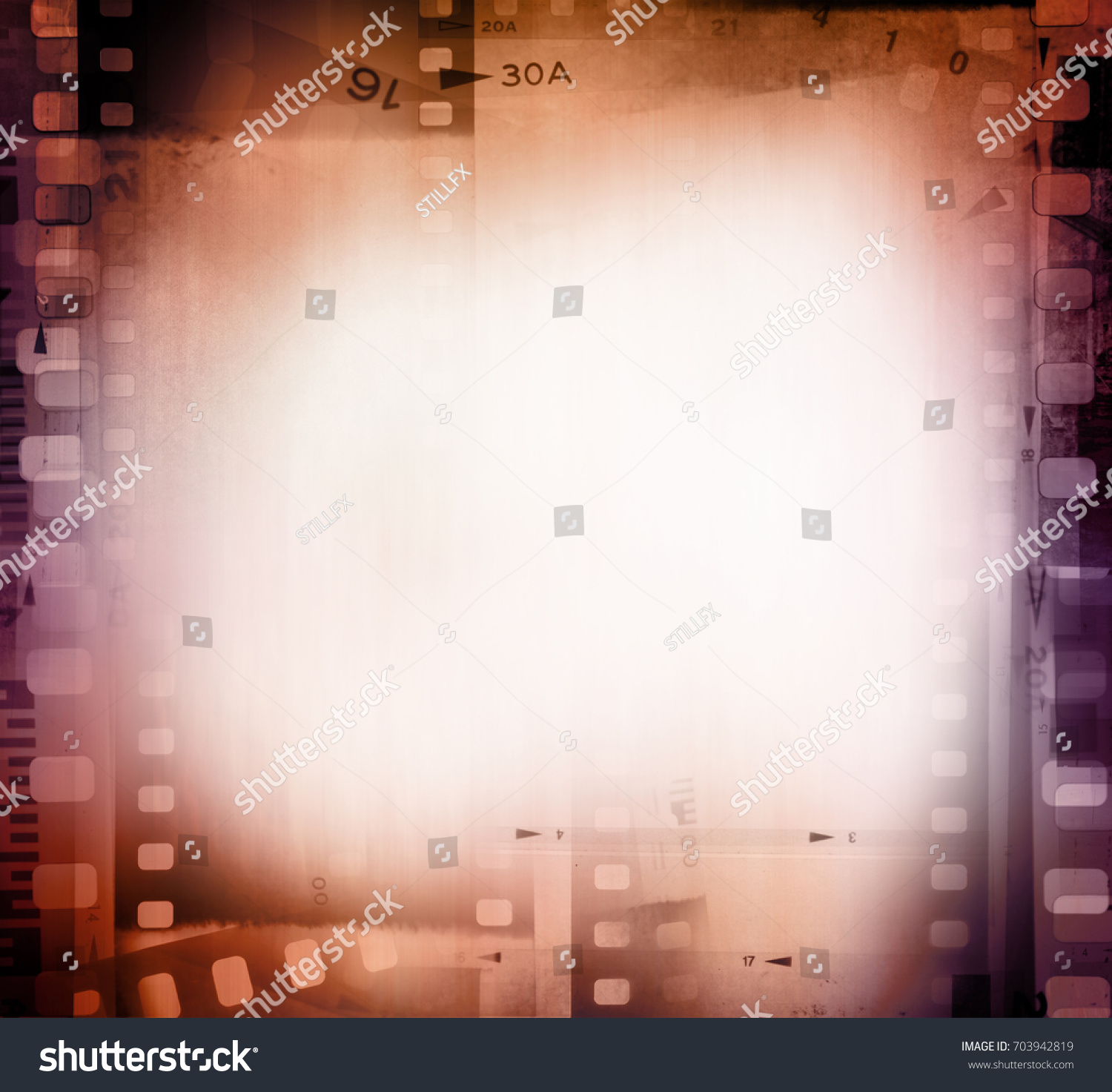 Film Negative Frames Background Stock Photo 703942819 ...