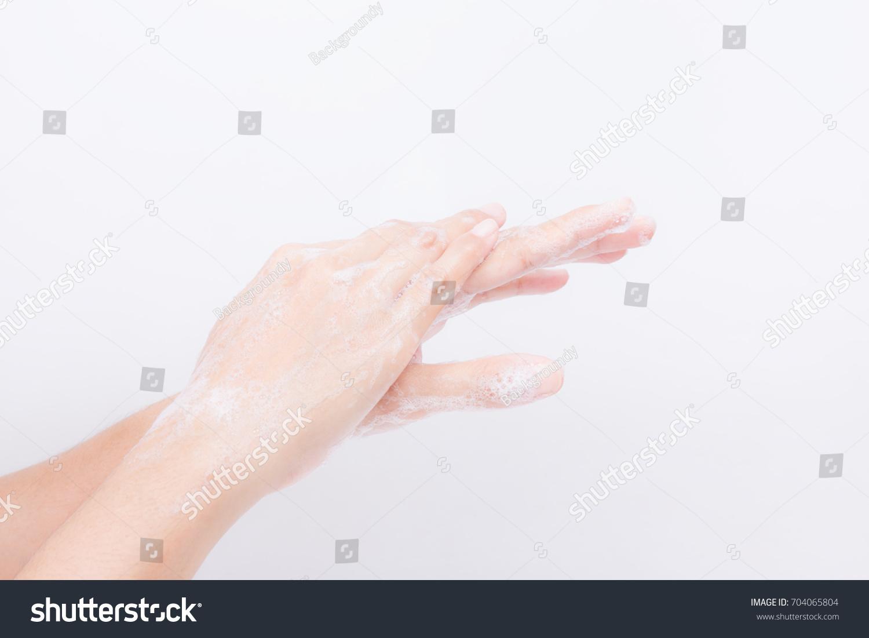 Japanese lesbian body washing