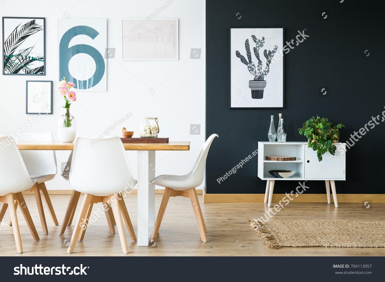 Modern Scandi Style Interior Home Design Stock Photo (Edit Now ...