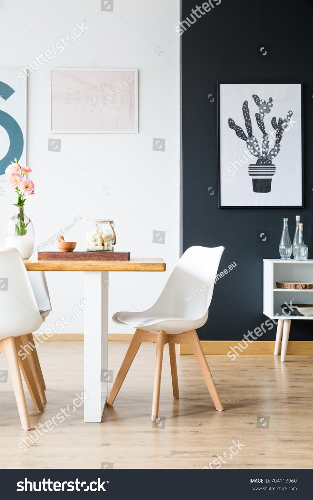 Modern Minimal Home Interior Design Scandi Stock Photo (Royalty Free ...