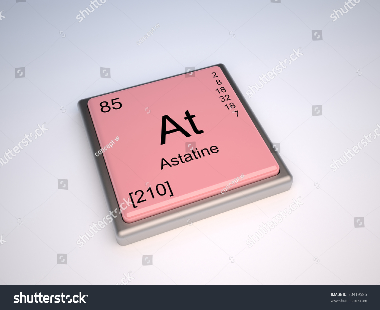 Astatine chemical element periodic table symbol stock illustration astatine chemical element of the periodic table with symbol at iupac gamestrikefo Image collections