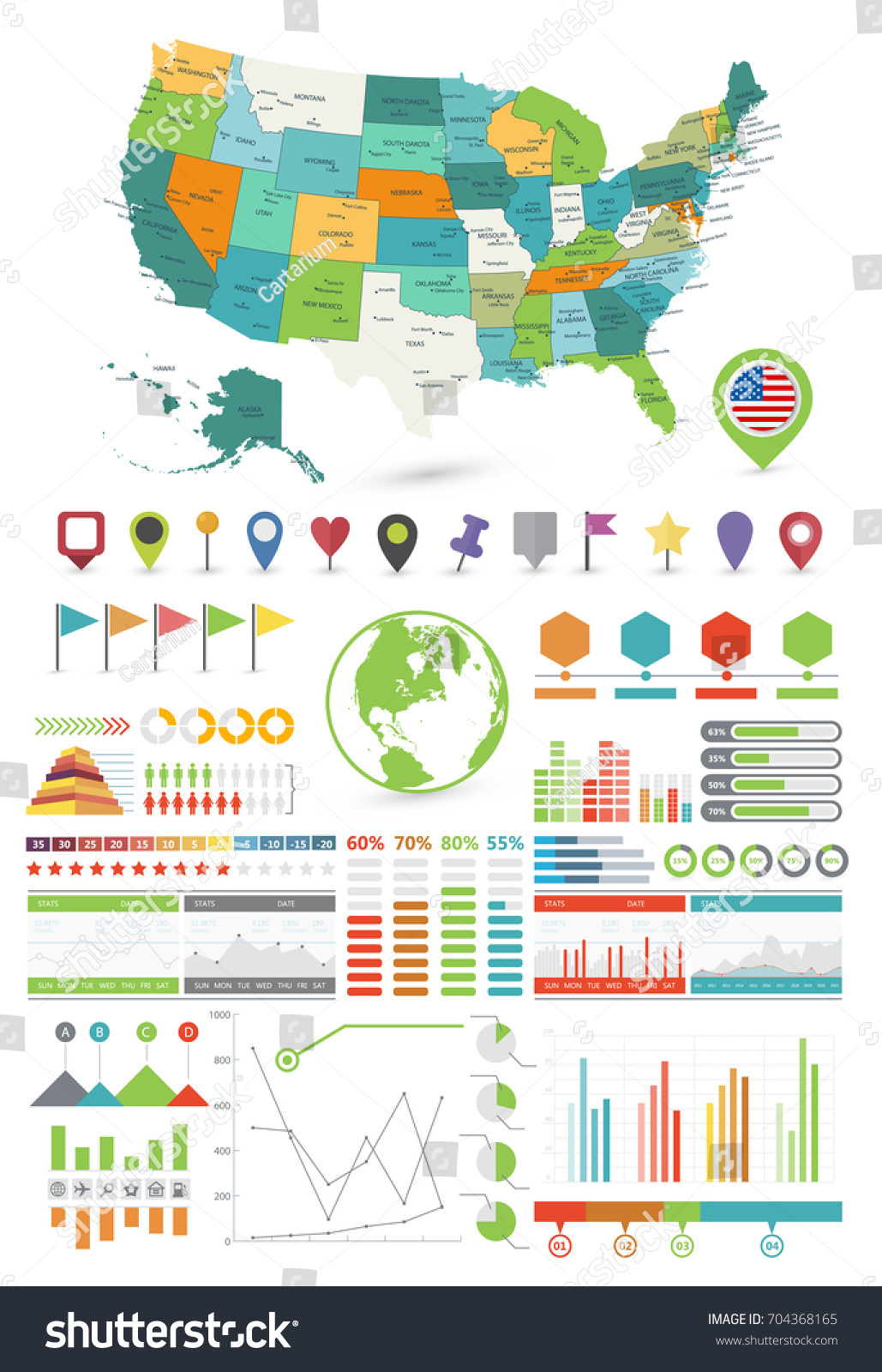 Powerpoint Us Map Template Elioleracom - Editable us map powerpoint free