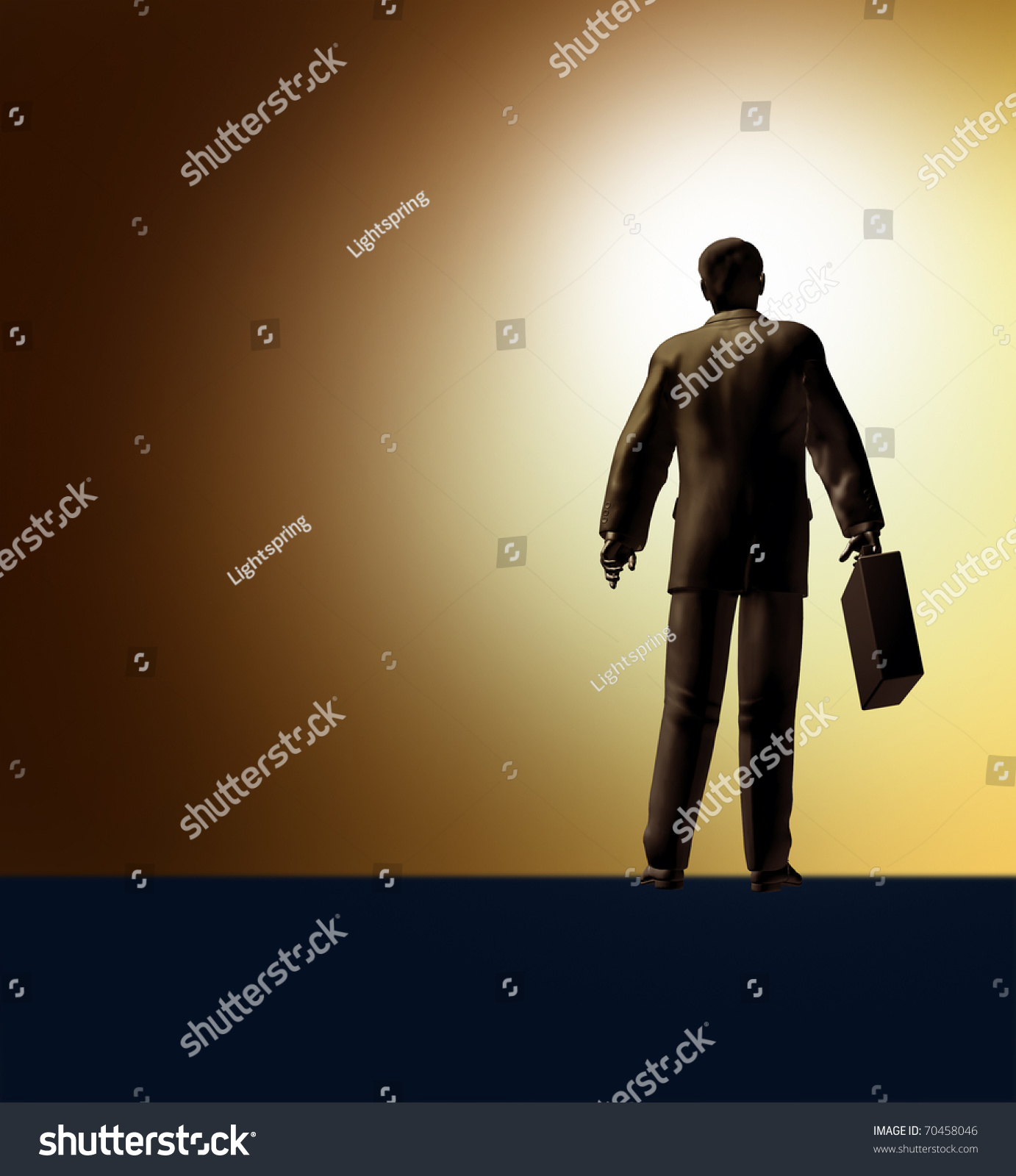 new career success start journey challenge conquer business man save to a lightbox