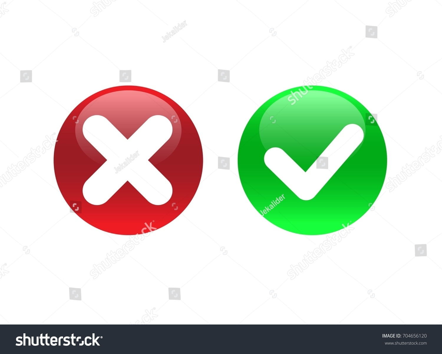Green red button circle shape symbols stock vector 704656120 green and red button circle shape symbols yes and no button for vote decision buycottarizona Gallery