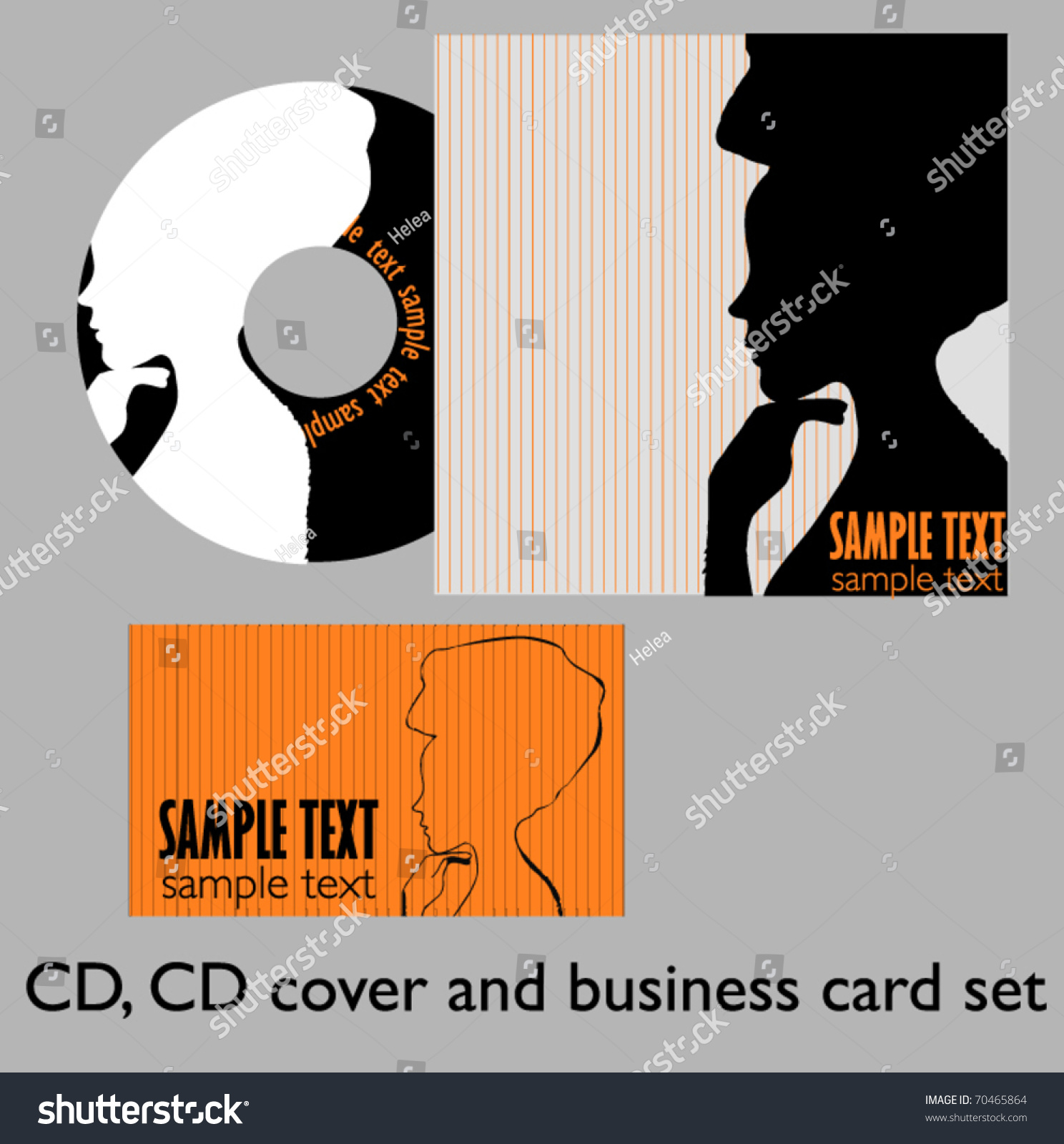 Illustrated Book Cover Vector : Vector illustrated cd cover design  shutterstock