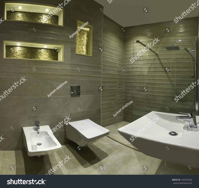 Amman, Jordan U2013 November 2016: Bathroom Decoration Interior Design On 19/11/
