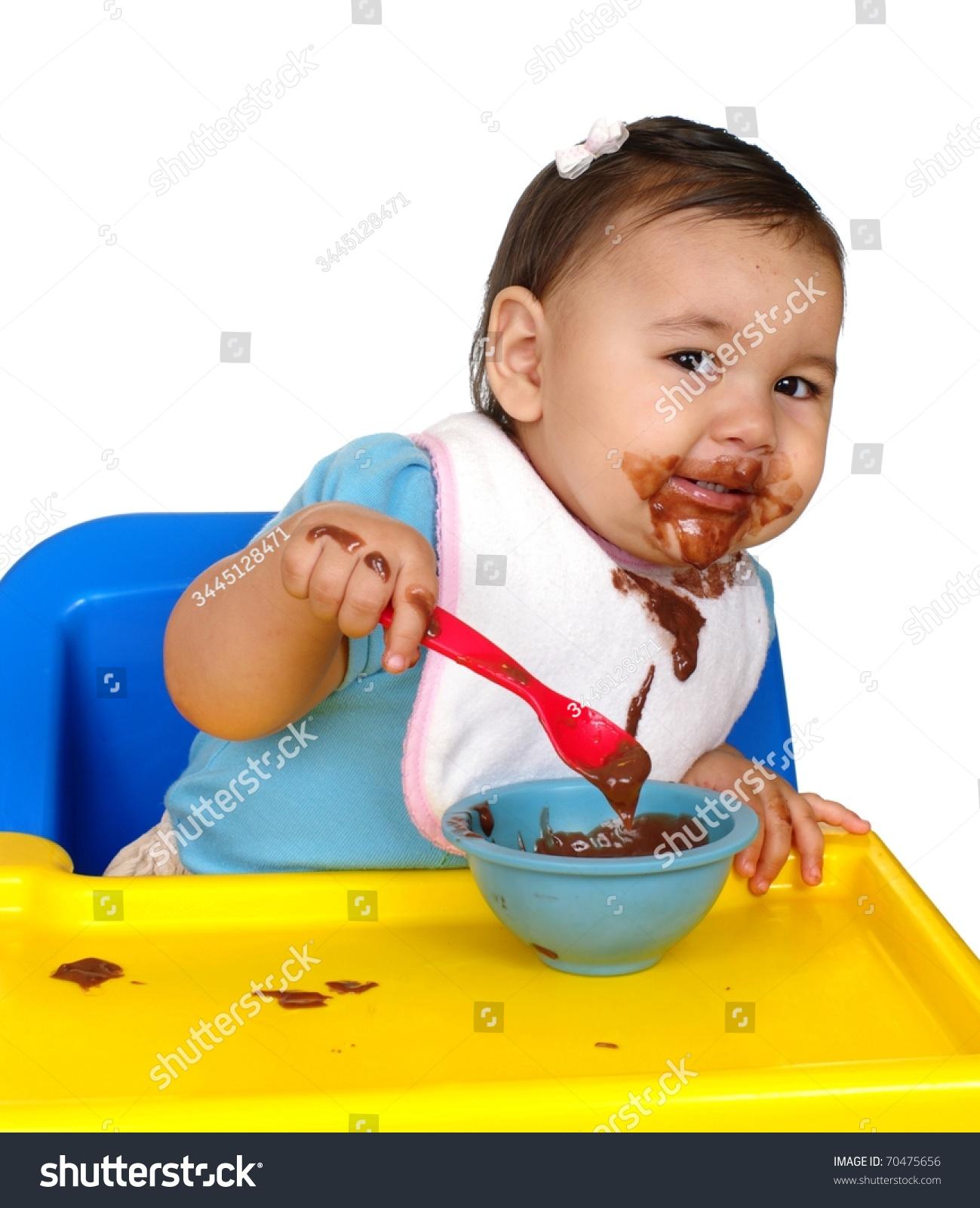 e Year Old Hispanic Baby Girl Stock Shutterstock