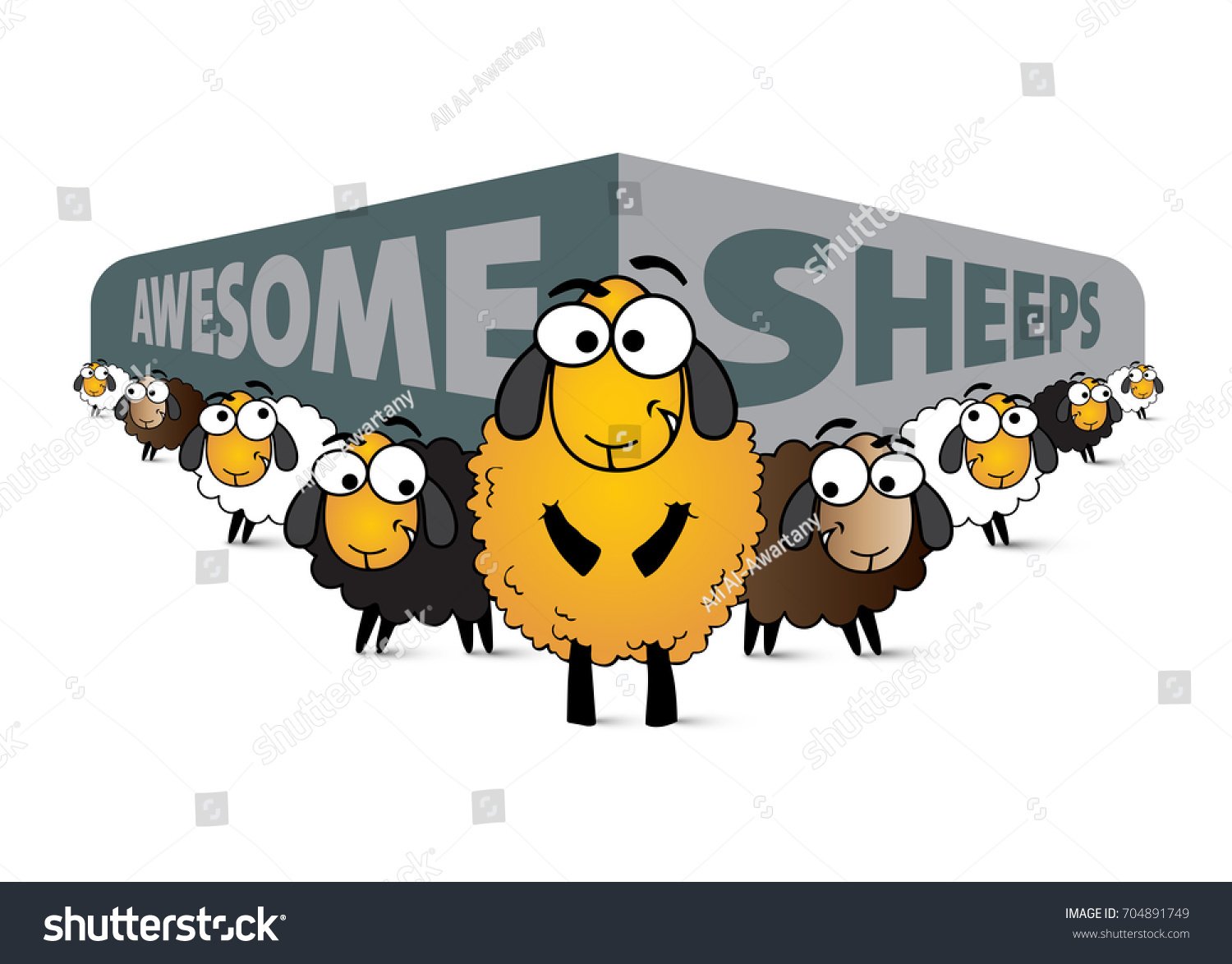 stock-vector-illustration-of-awesome-she