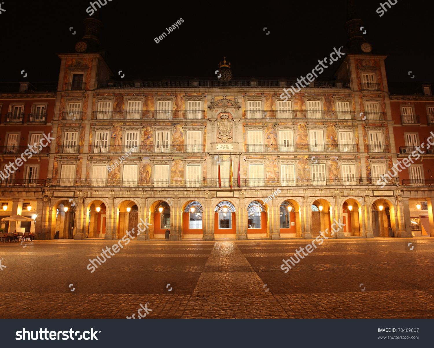 Plaza Mayor - Madrid Spain The Plaza Mayor Was Built ...