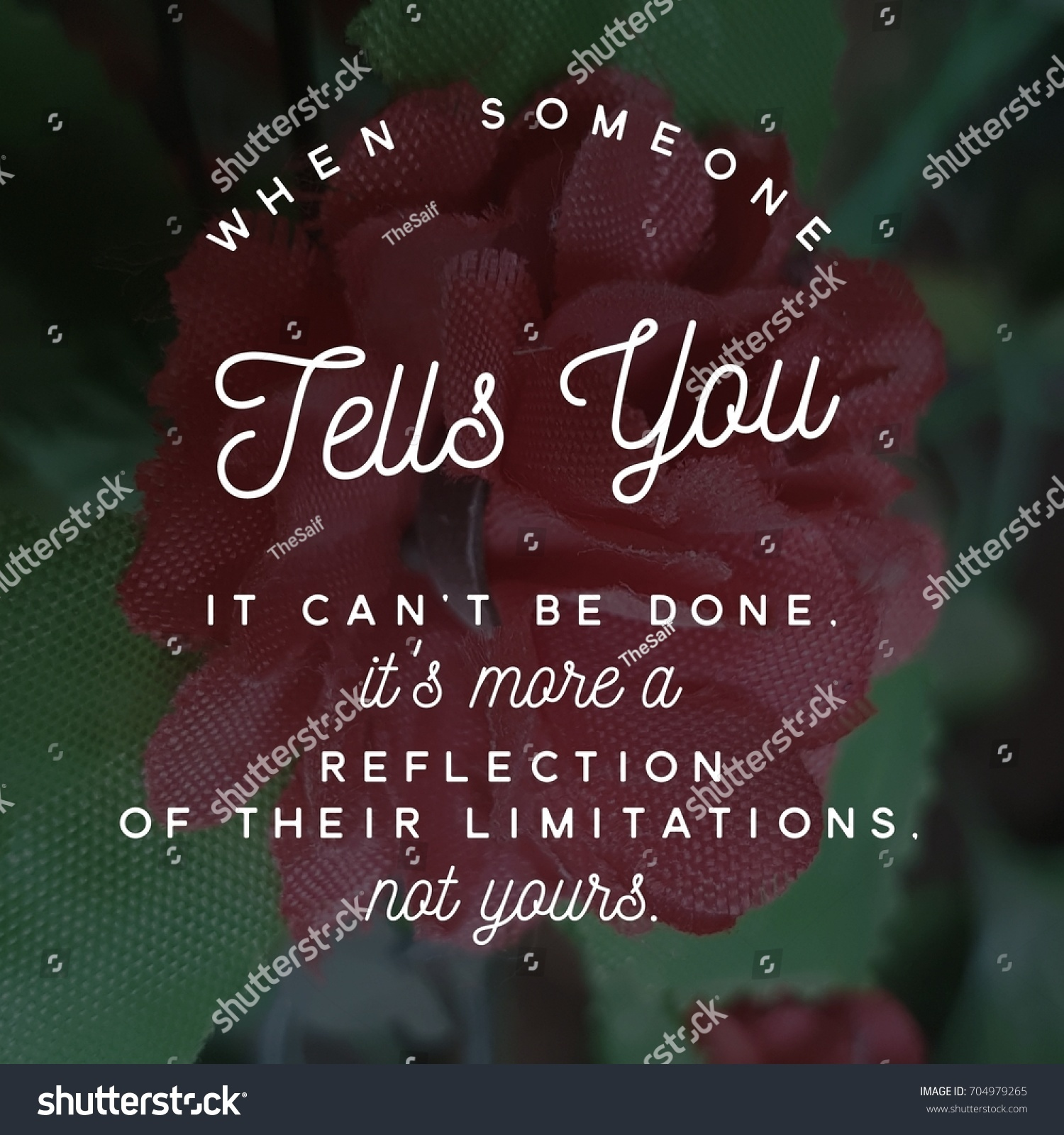 Sayings On Life Inspirational Quotes Inspirational Quote Best Motivational Quotes Sayings Stock Photo