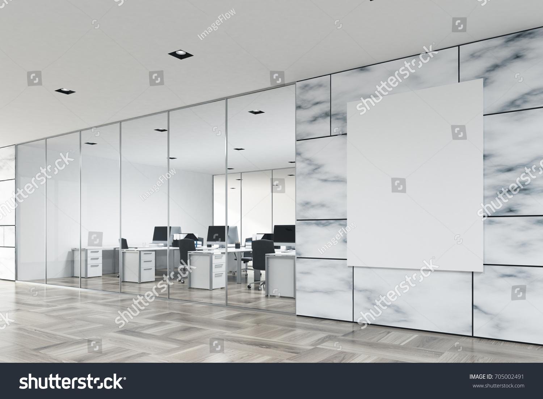 company lobby interior white marble walls stock illustration rh shutterstock com