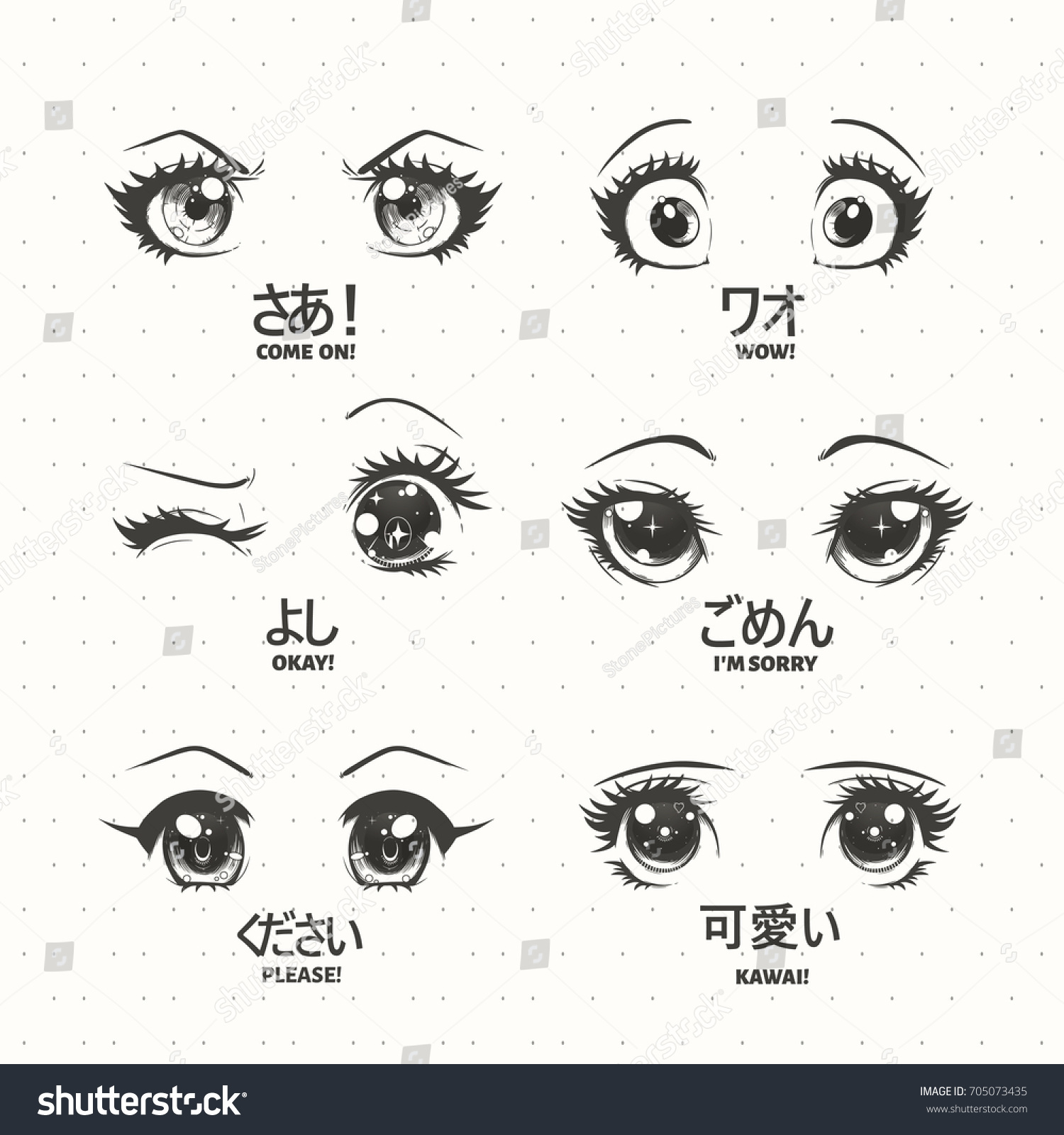 Anime Mouth Expressions