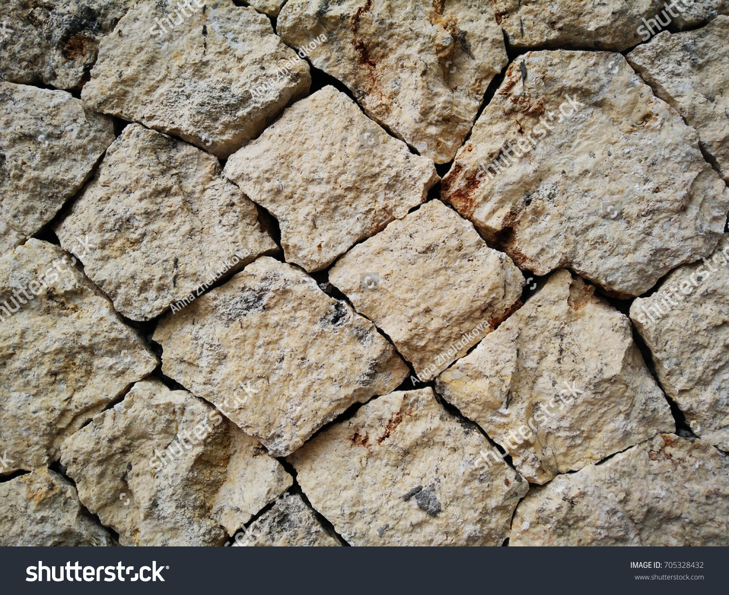 Stone Wall Rustic Texture Background Fence