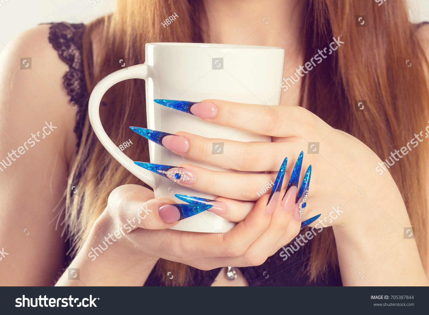 Nail Polish Modern Style New Trend Stock Photo (Edit Now)- Shutterstock