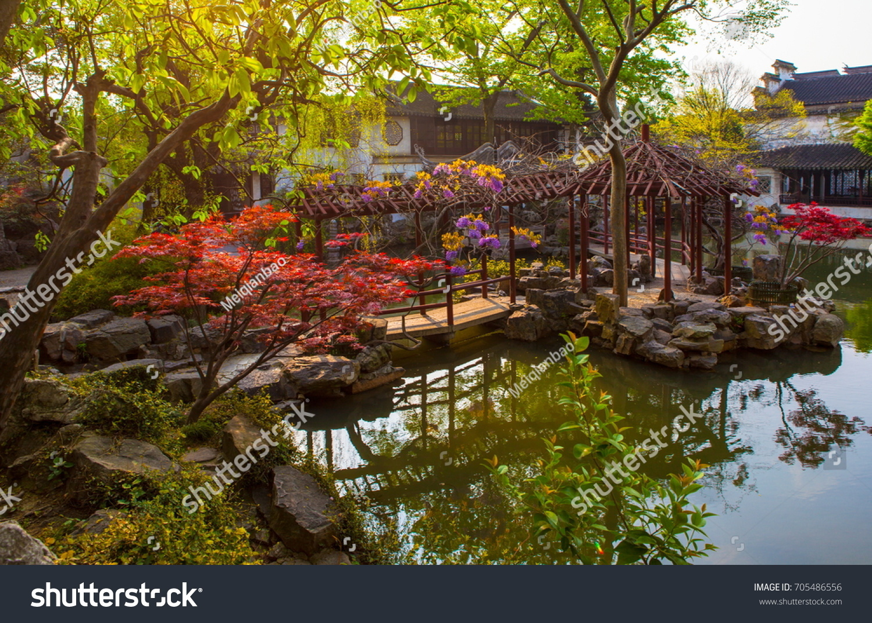 Liuyuan Lingering Garden One Chinese Classical Garden Suzhou Stock ...