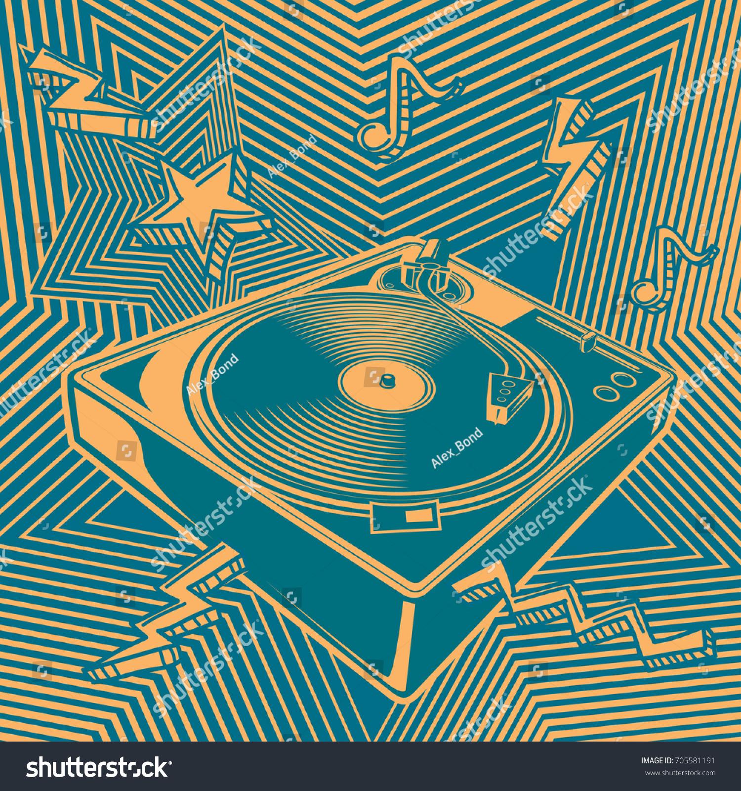 Turntable music design