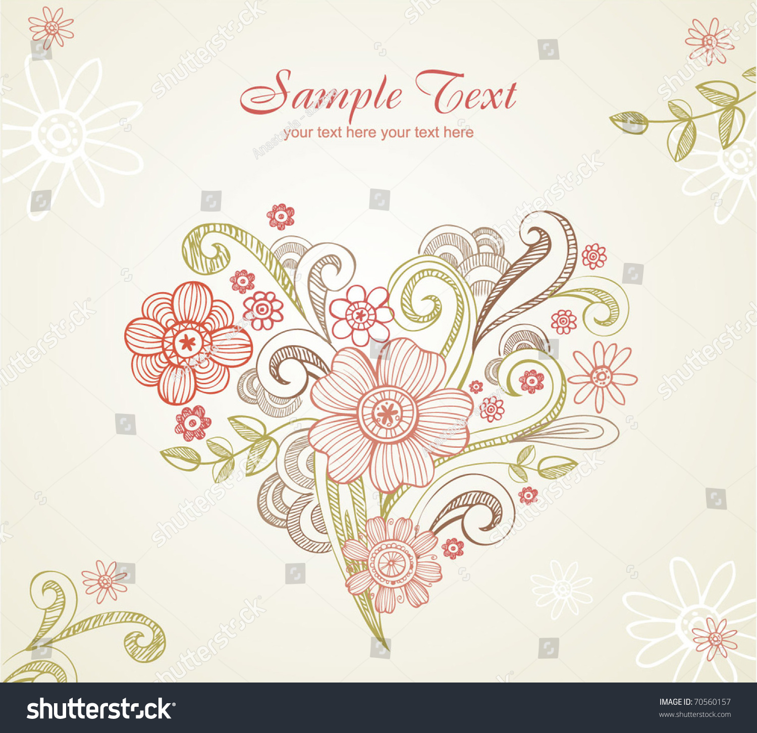 All The Elements Of Design : Wedding card all elements separately very stock vector
