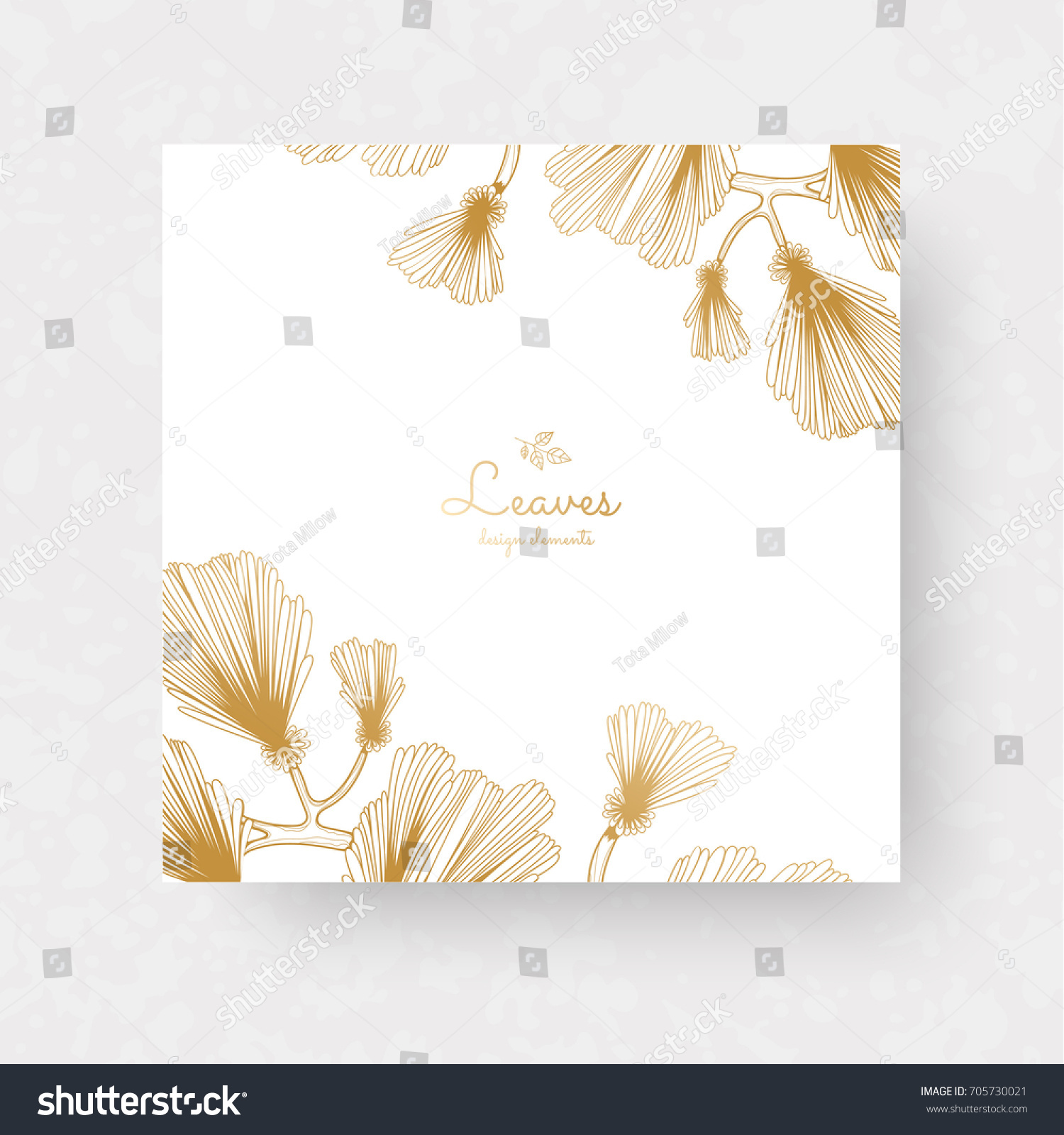 Ginkgo biloba branches leaves medical isolated stock vector ginkgo biloba branches leaves medical isolated stock vector 705730021 shutterstock stopboris Images