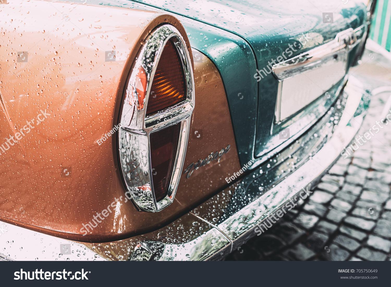 St Petersburg Russia August 82017 Bilenkin Classic Cars Based Stock ...