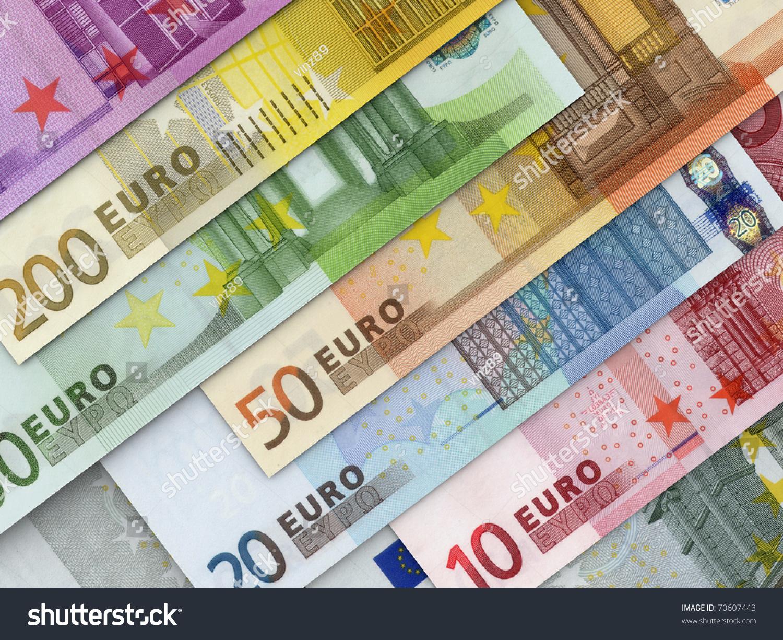 Euro Money Stock Photo 70607443 : Shutterstock
