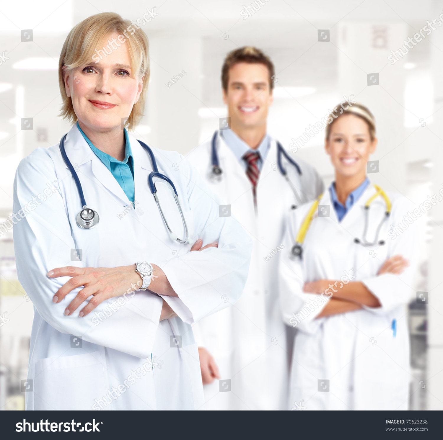 Medical Doctors Working Office Stock Photo Edit Now 70623238