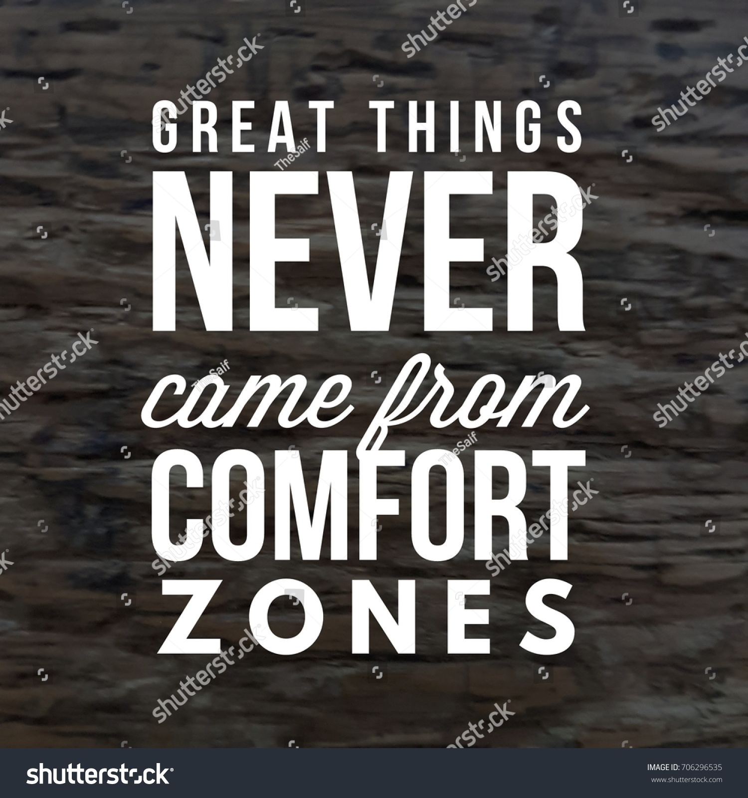 Quote Best Inspirational Motivational Quotes Sayings The Arts Stock Image 706296535