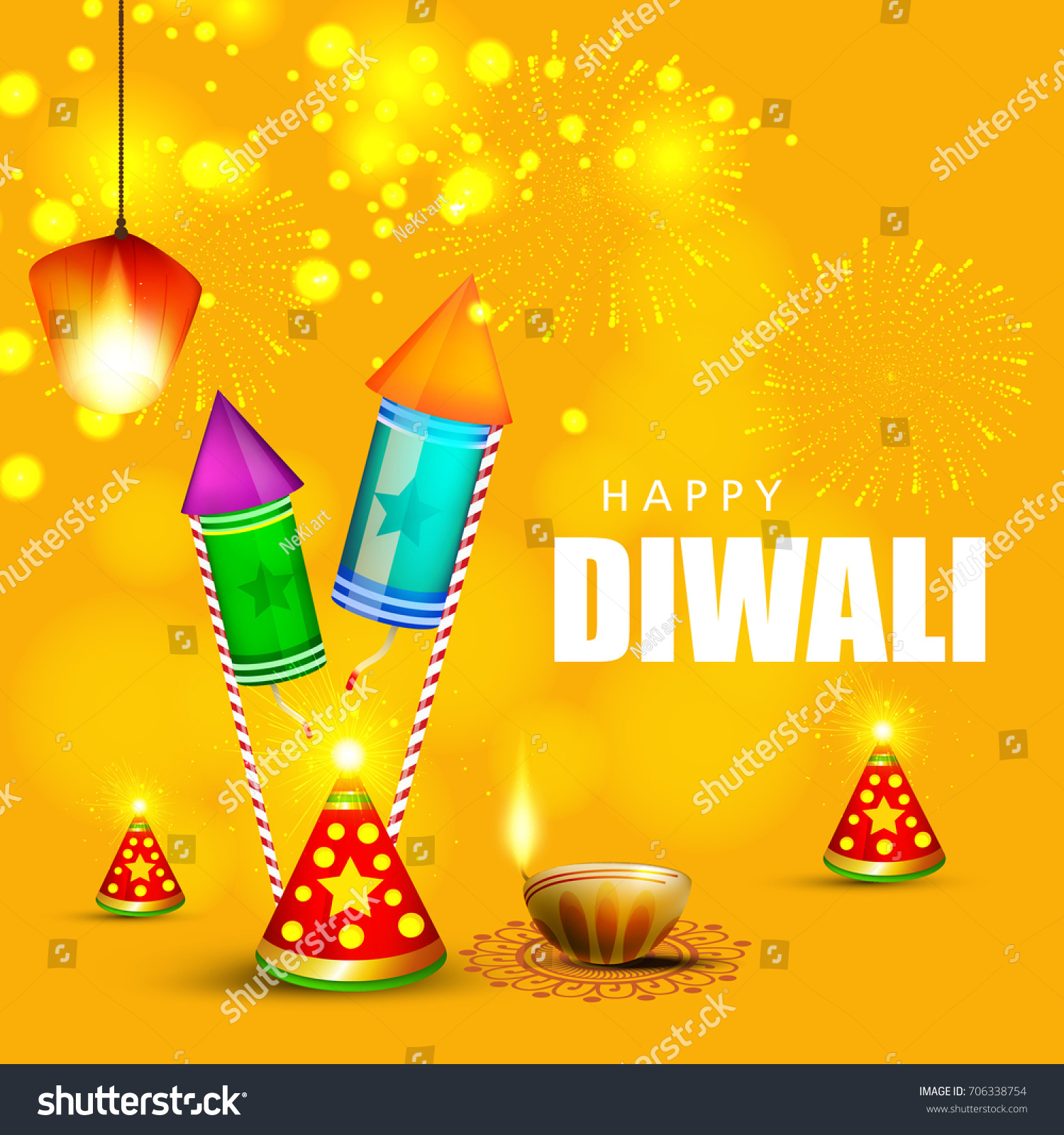 Creative greeting card design happy deepavali stock vector creative greeting card design for happy deepavali festival celebration on decorative background with floral rangoli design kristyandbryce Images
